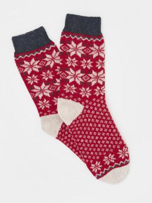Fairisle Boot Sock