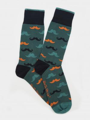 Moustache Socks