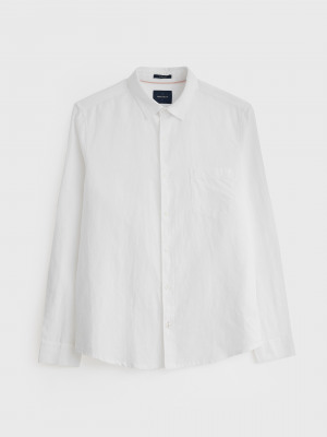Grover Cotton Linen Shirt