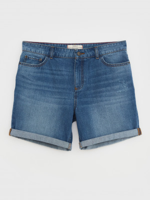 Denim Boyfriend Short