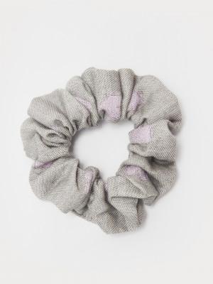 Heart Scrunchie