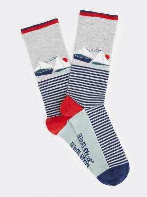 Boat Stripe Sock