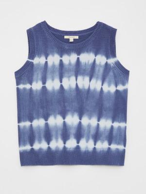 Garden Tie Dye Knit Top