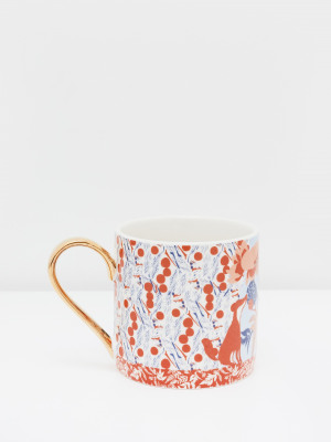 Botanical Patchwork Mug
