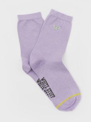 Butterfly Sparkle Sock