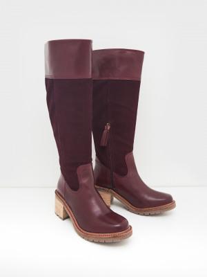 Amalie Knee High Heeled Boot
