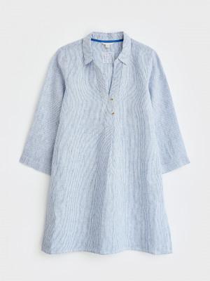Anu Stripe Linen Tunic