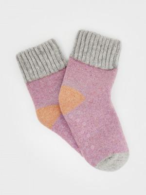 Colourblock Loopback Cosy Sock