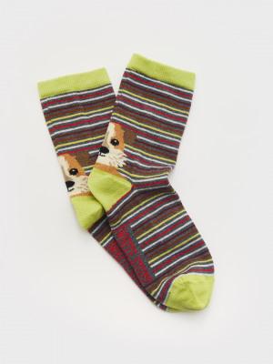 Animal Heel Sock