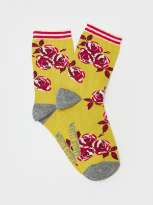 Ceres Floral Sock