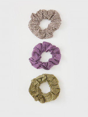 3 Pack Organic Cotton Scrunchies