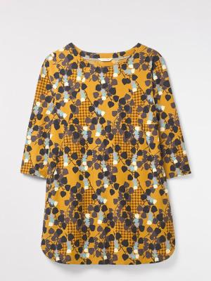 Farrah Printed Jersey Tunic