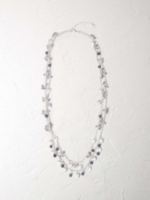 Heart Cluster Necklace