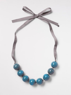 Ceramic Bead Necklace