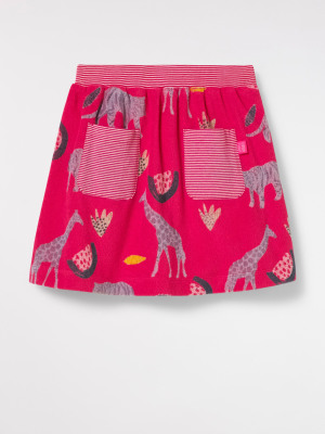 Animal Towelling Skirt