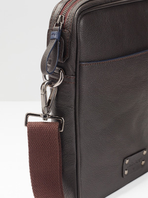 Monty Leather Crossbody Bag