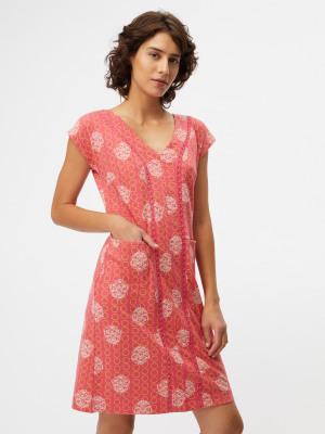 e2fc66d625 Clara Jersey Dress ROSETIP PINK PRINT