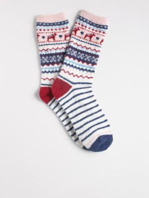 Fairisle Sponge Sock