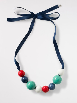 Fresh Ceramic Bead Necklace