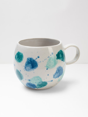 Blue Splash Mug