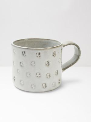 Star Debossed Mug