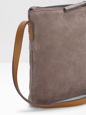 Mini Leila Suede Crossbody