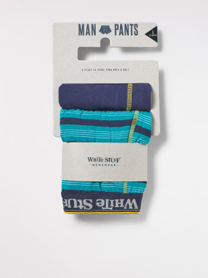 Simple Stripe Boxer 2 Pack