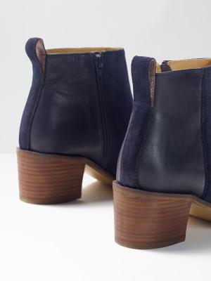 Ella Block Heeled Boot