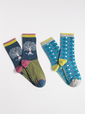 Tree Of Life Socks 2 pack