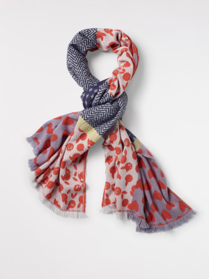 Patchwork Heart Midw Scarf