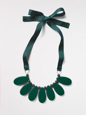 Reversible Pear Drop Necklace