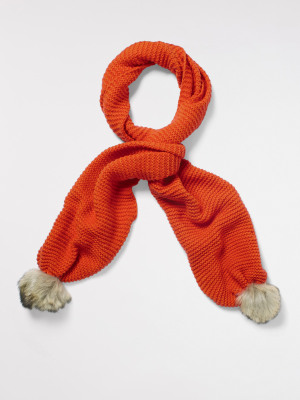 Bridget Plain Knit Scarf