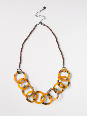 Ceci Marbled Necklace