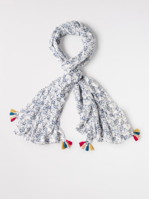 Cats And Dogs Scarf