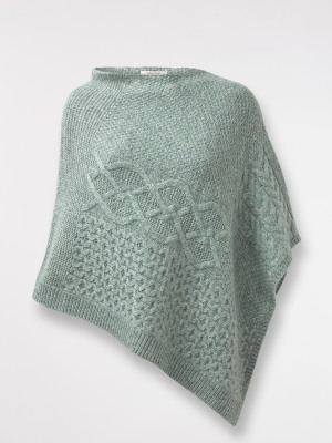 Tilly Cable Poncho