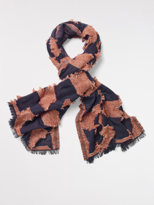 Flossy Woven Scarf