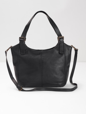 b45e9c7b9d26 Bailey Zip Hobo Bag BLACK