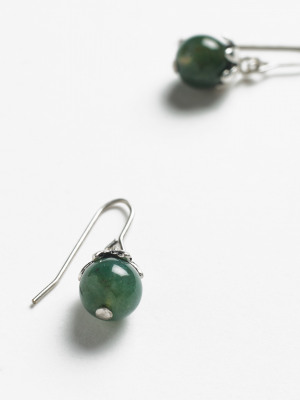 Blueberry Stone Drop Earring