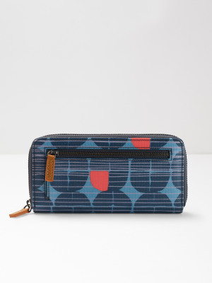Coated Canvas Print Purse
