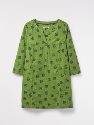 Falling Leaves Cord Tunic