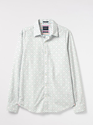 Any-wear Bike Print Shirt