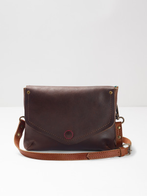 7d84d2cd7d6a Josie Pull Up Crossbody CHOCOLATE