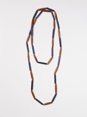 Wood Resin Versatile Necklace