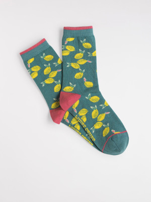 Lemon Single Sock
