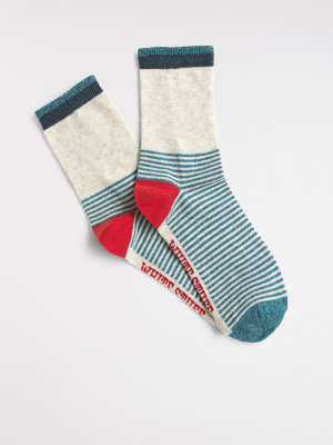 Colour Block Single Sock