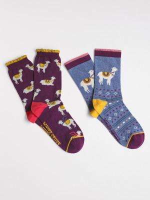 Llama 2 Pack Socks