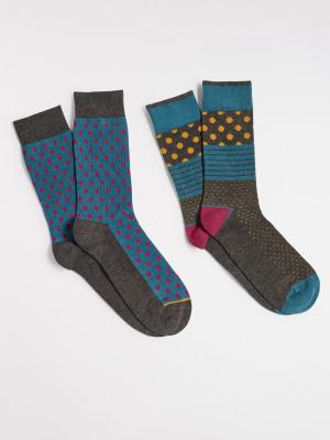 Hotch Potch 2 Pack Socks