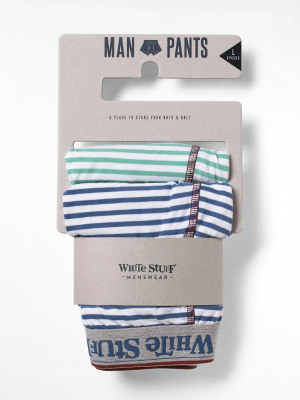 Multi Stripe Double Boxer Pack