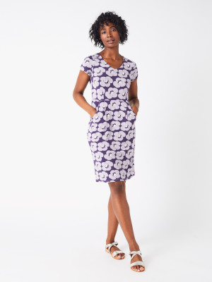Chile Dress GREY PRINT b7a1ac088