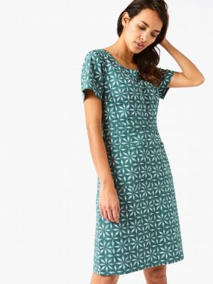 c9598d2520b Marianne Dress YOSEMITE GREEN PRINT